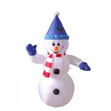 Christmas Inflatable Happy Snowman Decoration