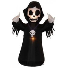 4' Halloween Inflatable Grim Reaper