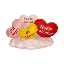 Valentine's Day Inflatable Love Hearts on Cloud Decoration