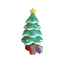 Christmas Inflatable Frosted Tree Decoration
