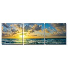 Ethereal Beauty Modern 3 Piece Photographic Print