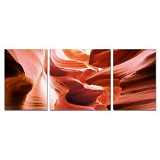 Hidden Meaning Modern 3 Piece Photographic Print