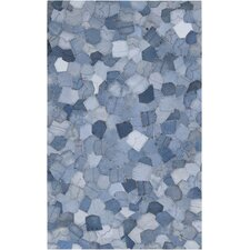 Coso Denim Mosaic Pockets Rug