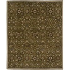 Broome Design Dark Brown, Hand-Tufted Rug