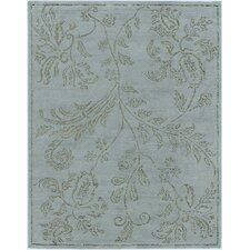 Marqu Design Ice Blue, Hand-Knotted Rug