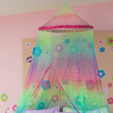 <strong>Three Cheers For Girls!</strong> Tie Dye Canopy