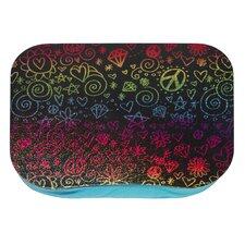 Rainbow Doodle Lap Desk