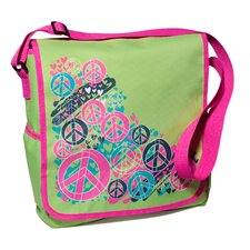 Splatter Peace Messenger Bag