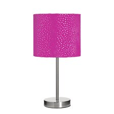 Sparkle Velour Table Lamp