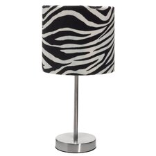 Velour Table Lamp