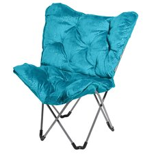 <strong>Three Cheers For Girls!</strong> Sparkle Butterfly Side Chair