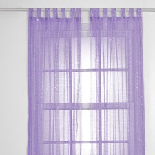 SparkleTastic Tab Top Curtain Panel