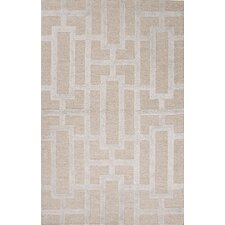 City Taupe / Gray Geometric Area Rug