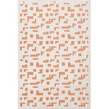 Fables Ivory/Orange Area Rug