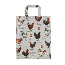 Chicken and Egg PVC Medium Bag