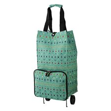 Graphic Lace Shopping Trolley