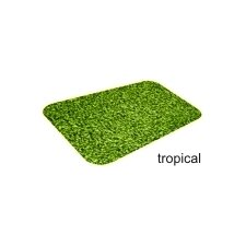 Flat Borderless Mat in Tropical