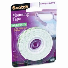 <strong>3M</strong> Foam Mounting Double-Sided Tape, 1/2 Wide x 75 Long