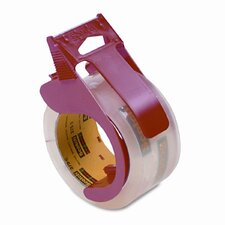 Scotch 3750 Commercial Grade Packaging Tape with Dispenser, 4/Pack