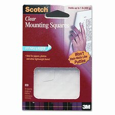 Scotch Mounting Squares, 35/Pack