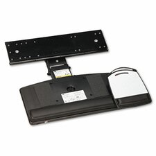 Positive Locking Keyboard Tray, Highly Adjustable Platform