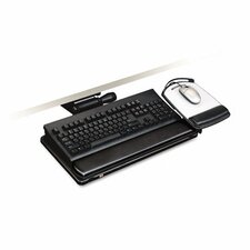 Easy Adjust Keyboard Tray, Highly Adjustable Platform