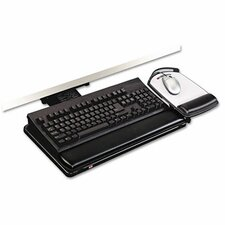 Knob Adjust Keyboard Tray, Highly Adjustable Platform