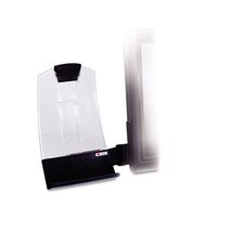 Clip Copyholder, Flat Panel Monitor Mount, Plastic, Holds 35 Sheets