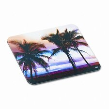 Scenic Foam Mouse Pad, Nonskid Back, Sunrise Design