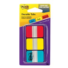 Durable Index Tabs 1x1.5 3/pk