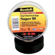 Scotch® Super Vinyl Electrical Tapes 88 - 88 3/4x66 vinyl electrical tape