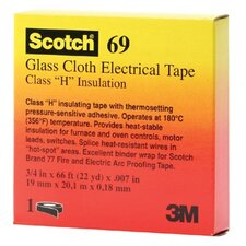 <strong>3M</strong> Scotch® Glass Cloth Electrical Tapes 69 - 69 1/2x66 glass cloth tape