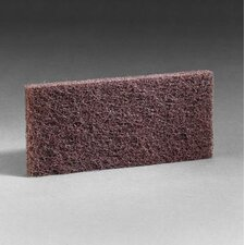 "Brown Scrub n Strip Pad 4 5/8"" X 10"""