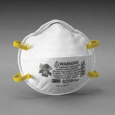 8210Plus N95 Particulate Disposable Respirator - NIOSH 42CFR84 (20 Per Box)