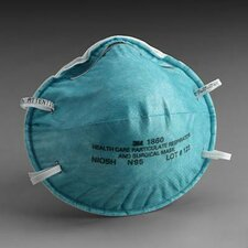 1860S N95 Particulate Disposable Respirator - NIOSH 42CFR84 (20 Per Box)