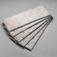 "Sorbent Pad High Capacity 7 1/2"" X 20 1/2"""