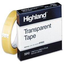 "Transparent Tape, 3/4""x2592, 3"" Core, Clear"