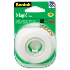 "Magic Tape, 3/4""x500"", Clear"