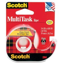 "MultiTask Tape, 1"" Core, 3/4""x650"", Transparent"