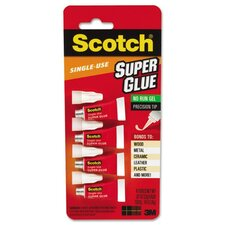 Scotch Scotch Single Use Super Glue, 4/Pack