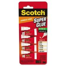 Scotch Single Use Super Glue (Pack of 4)