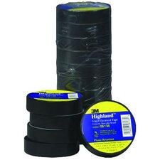 "<strong>3M</strong> Electrical Tape,3/4""""X66',Highland"