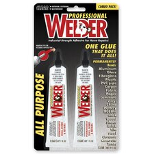 2 Count 1 Oz Welder Professional Adhesive 730657