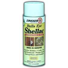Clear Bulls Eye® Shellac Spray Paint