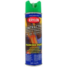 15 Oz APWA Green Water Based Contractor Marking Spray Paint