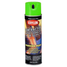 17 Oz APWA Green Solvent Based Contractor Marking Spray Paint