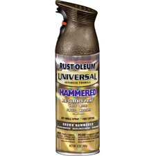 12 Oz Hammered Brown Universal® Spray Paint