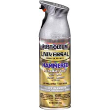 12 Oz Hammered Silver Universal® Spray Paint