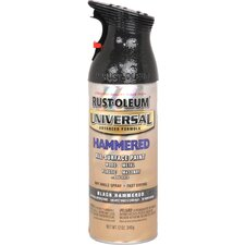 12 Oz Hammered Black Universal® Spray Paint