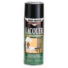 11 Oz Black Lacquer Spray Paint Gloss